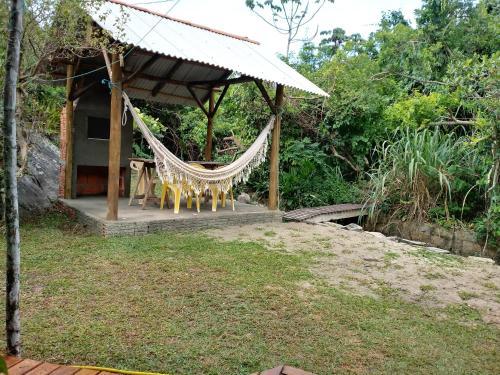 Jardín al aire libre en Casa na Praia do Matadeiro