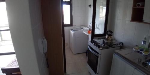 Un baño de Apartamento Condomínio Praia do Santinho