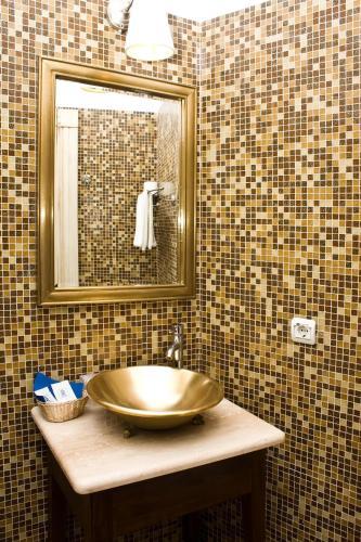 Ванная комната в Отель Усадьба