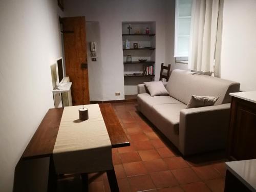 Area soggiorno di La Casina