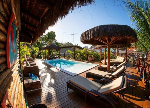 Het zwembad bij of vlak bij Casa Celestino Residence