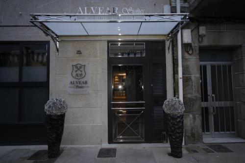 The facade or entrance of Alvear Suites