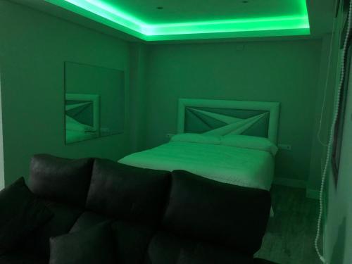 A bed or beds in a room at Las 7 Esencias