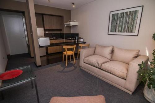 Zona de estar de Aurelio Hotel & Apart