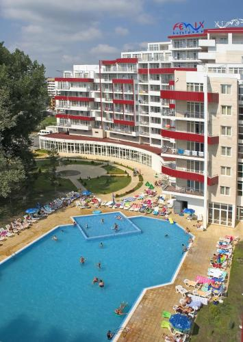 A view of the pool at Hotel Fenix - Halfboard or nearby