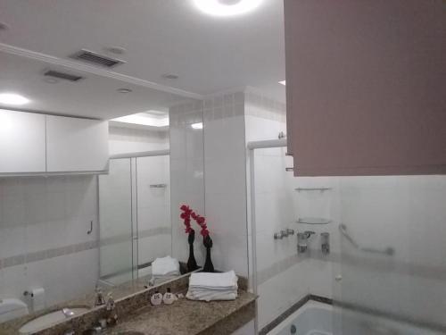 A bathroom at Flat Tropical Particular