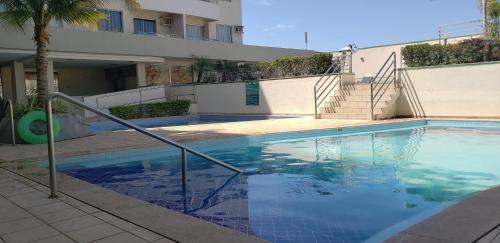 The swimming pool at or near Flat Rio Quente Serra Park (Propriedade Particular)