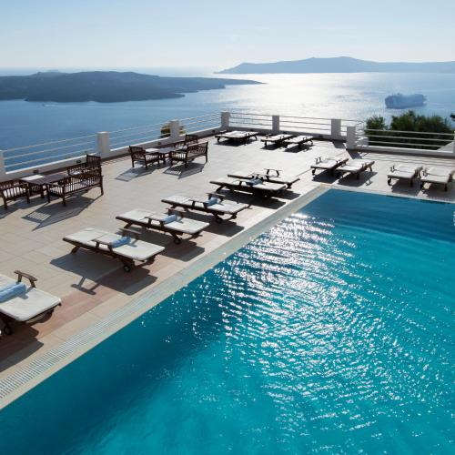 A piscina localizada em Tzekos Villas ou nos arredores