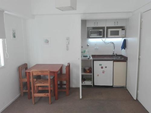 Una cocina o kitchenette en Departamento Recoleta