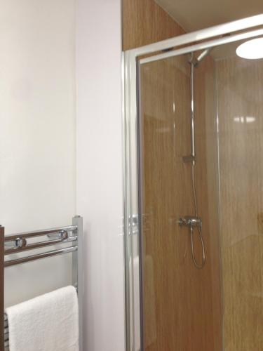 A bathroom at 5B Gallowgate Square Apartments