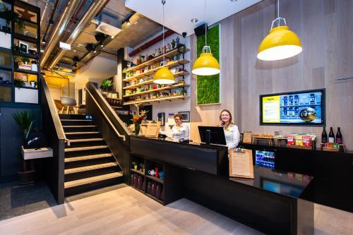 Hall ou réception de l'établissement Staycity Aparthotels Chancery Lane Dublin