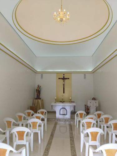 A restaurant or other place to eat at Pousada Religiosa S Jose