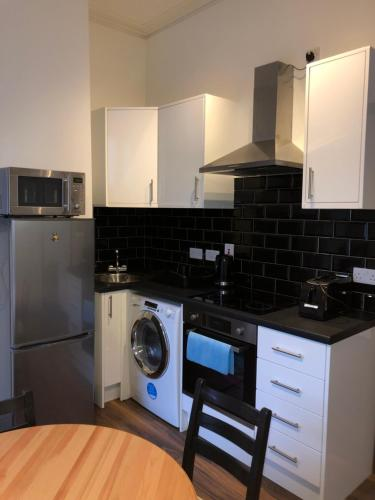 A kitchen or kitchenette at Dublin Central Studios