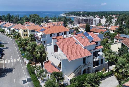A bird's-eye view of Apartments Marija