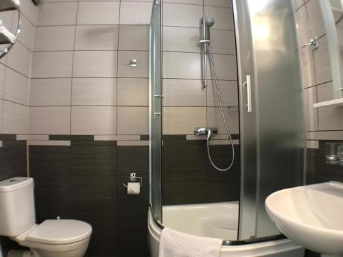 Ένα μπάνιο στο Apartment on Dalimilova 12