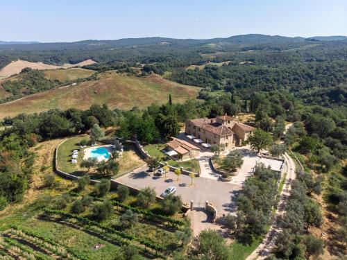 Vista aerea di Barottoli Casa Vacanze