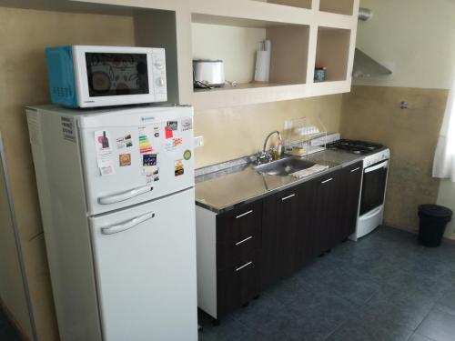 Una cocina o kitchenette en MViejo