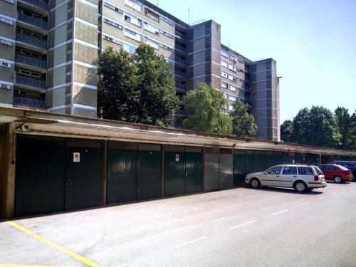 The building where the apartment is located