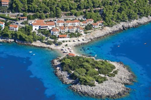 A bird's-eye view of Hotel Priscapac Resort & Apartments