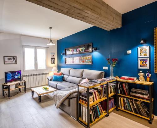 Un lugar para sentarse en Logroño centro, una casa con vistas