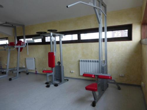The fitness center and/or fitness facilities at Fortuna Apartments