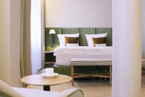 Cama o camas de una habitación en Bavaria Boardinghouse