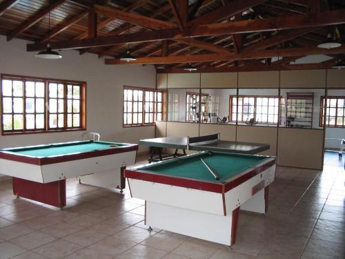Mesa de billar en CONDOMÍNIO HOTEL RESORT PRAIAS BRANCAS SC.