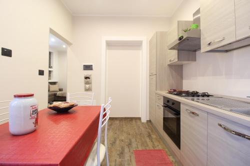 A kitchen or kitchenette at B&B Corso Roma