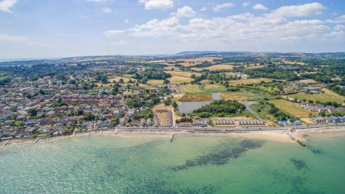 A bird's-eye view of Seaview Holidays Salterns