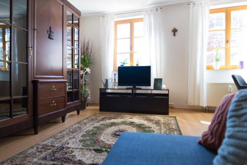 A television and/or entertainment center at Apartement Große Brüdergasse