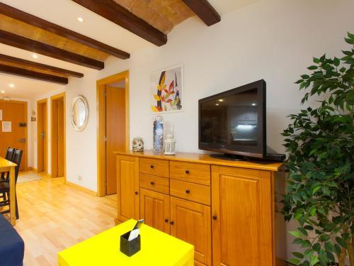 TV o dispositivi per l'intrattenimento presso Apartment Blasco de Garay