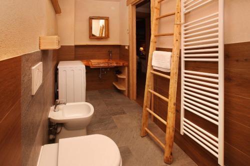 Ванна кімната в Eydappartamenti