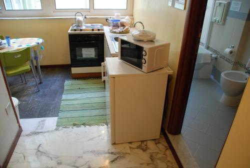 A kitchen or kitchenette at Latt e Liett