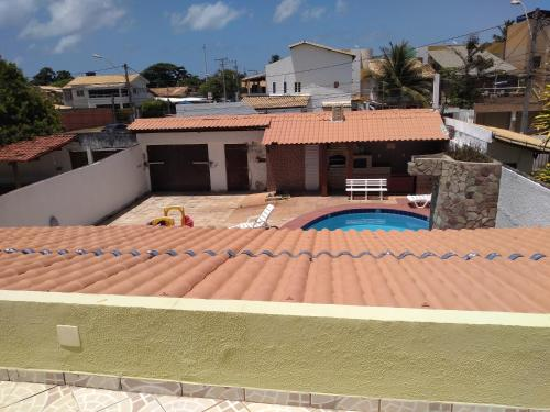 A view of the pool at Casa para carnaval 15 pessoas or nearby