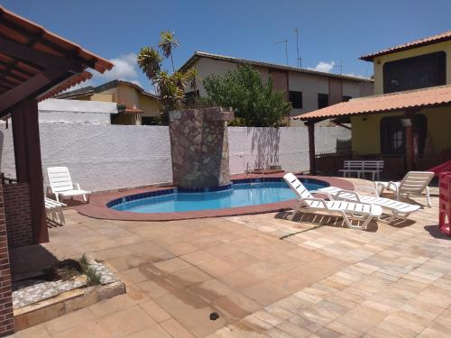 The swimming pool at or close to Casa para carnaval 15 pessoas