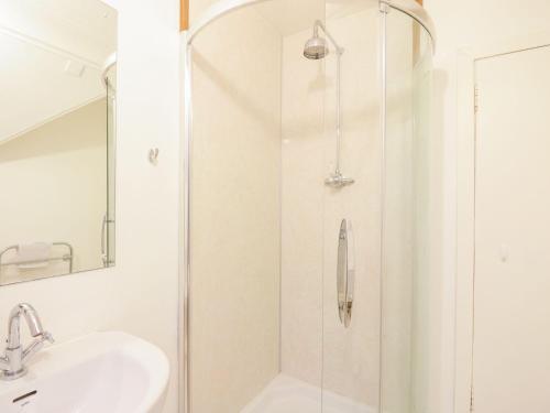 A bathroom at Fernoch, Portsonachan
