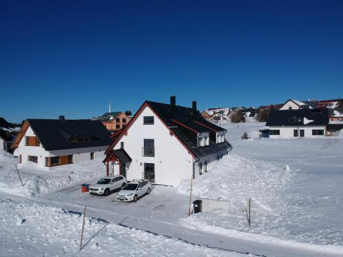 Apartmány BD Boží Dar during the winter