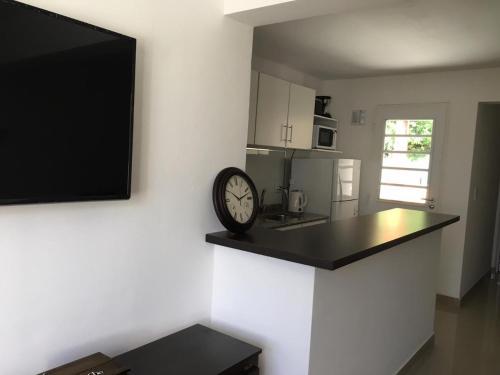 Una cocina o kitchenette en Apartamento El Maiten