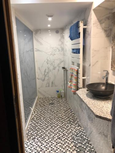A bathroom at Loft Paris 16 eme