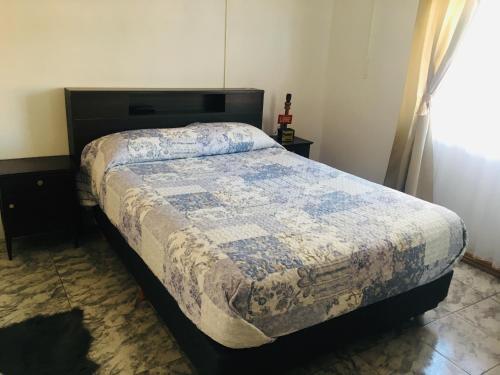 Una cama o camas en una habitación de RUCA VARAS