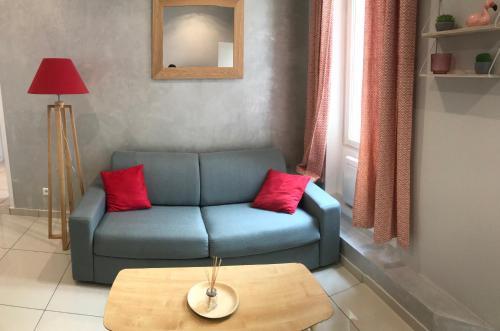 Ruang duduk di Appartement Marseille, Centre&Vieux-port