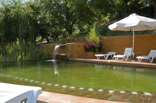 The swimming pool at or near La Oveja Verde de la Alpujarra