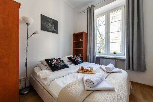Lova arba lovos apgyvendinimo įstaigoje P&O Apartments Old Town