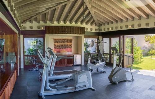 The fitness center and/or fitness facilities at Casa Koko