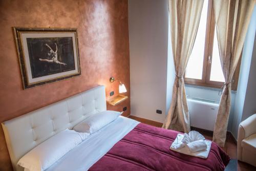 Krevet ili kreveti u jedinici u objektu Casa Navona