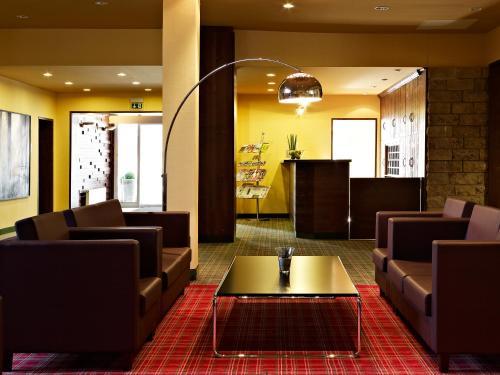 Lounge oder Bar in der Unterkunft Ferien Appartements am Berghotel Oberhof (ex Parkhotel)