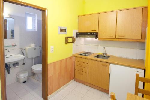 Kitchen o kitchenette sa Remezzo Apartments