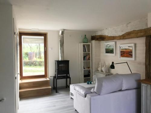 Zona de estar de Sasibil Rural Studio