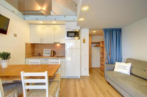 Virtuve vai virtuves aprīkojums naktsmītnē Loftas Nidos centre