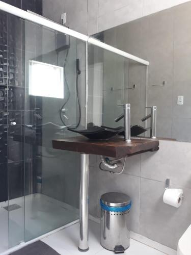 Un baño de Casa Blanca Hostel